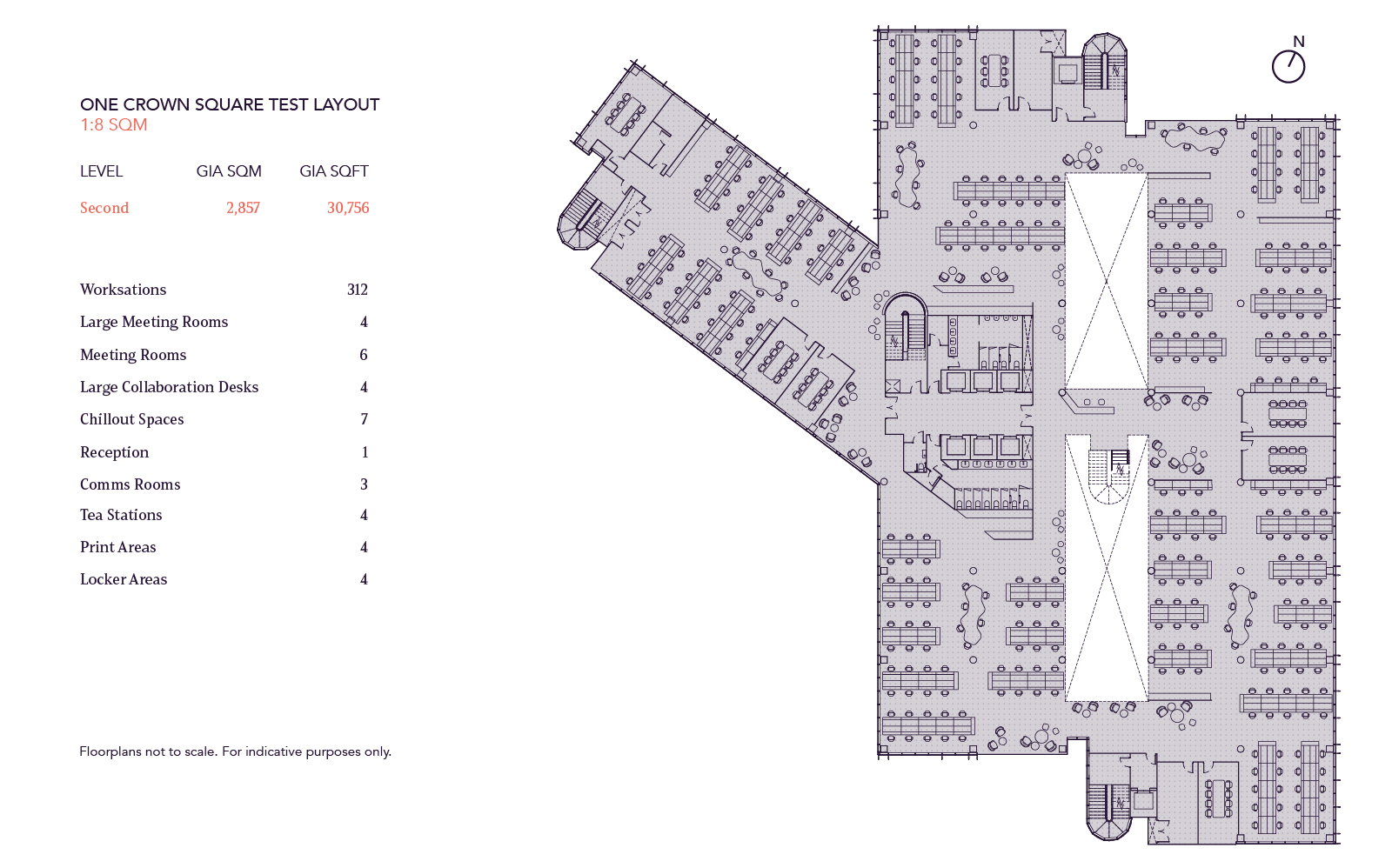 One and Eight Floorplan Image